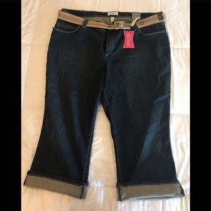 Venezia Cropped Denim Jeans